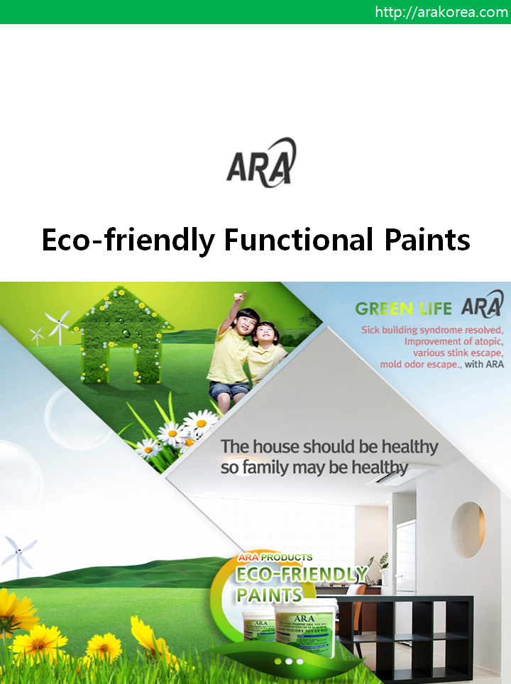 Eco Friendly Functional Paint Water Based Paints Ara